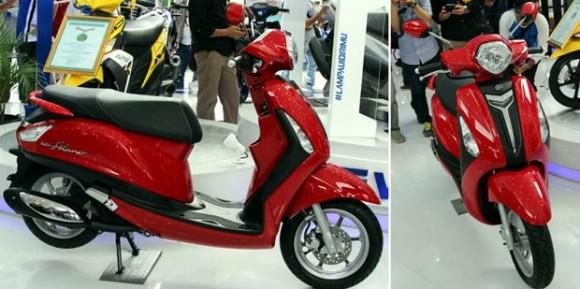 Skutik Yamaha Grand Filano CBU 'Blue Core' Resmi Mengaspal