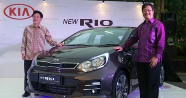Kia New Rio Platinum Lebih Fresh Dengan Penampilan Barunya