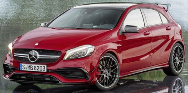 Mercedes-Benz Menampilkan Line-up Generasi A-Class 2016