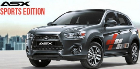Hot! Mitsubishi ASX Sports Edition Cuma 60 Unit