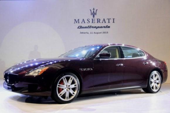 """Maserati Quattroporte Dengan Mesin Terbarunya """"V6 twin-turbo"""" Masuk Indonesia"""