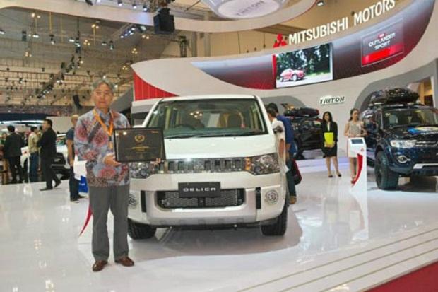 Mitsubishi Delica versi Mewah Akan Rilis Tahun Ini di Indonesia