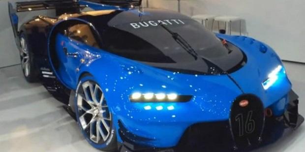 Bugatti Veyron Vision Gran Turismo, Lebih Futuristik Dari Pendahulunya