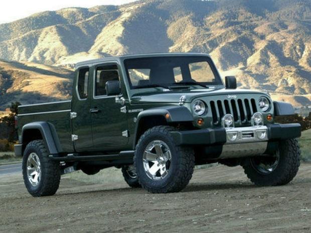Dalam Waktu Dekat Jeep Seri Pickup Wrangler Akan Hadir