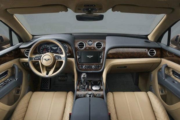 SUV Mewah Bentley Bentayga Siap Menampakkan Sosok Aslinya