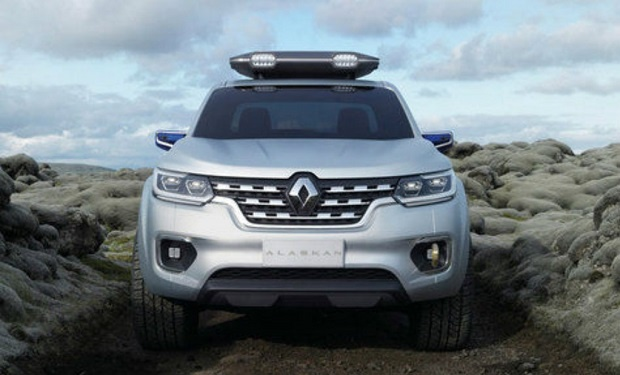 """Segmen Mobil Pick Up Semakin Bersaing Ketat Dengan Munculnya Pendatang Baru """"Renault Alaskan Concept"""""""