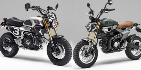 Honda Grom 50 Concept Siap Meluncur, Berpenampilan Mungil Berkonsep Scrambler