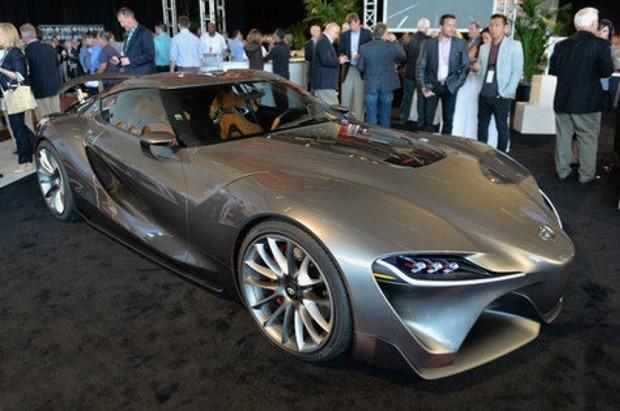 Sosok Calon Penerus Toyota Supra Memiliki Penampilan Yang Megah