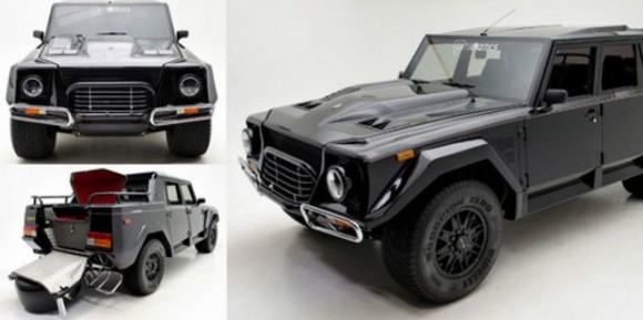 Hadirnya Sang SUV Legendaris, 'Rambo-Lambo' LM002