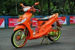 Modifikasi Yamaha Mio Sporty Tampil Lebih Menarik