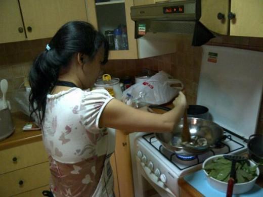 masak yang enak khusus buat dia
