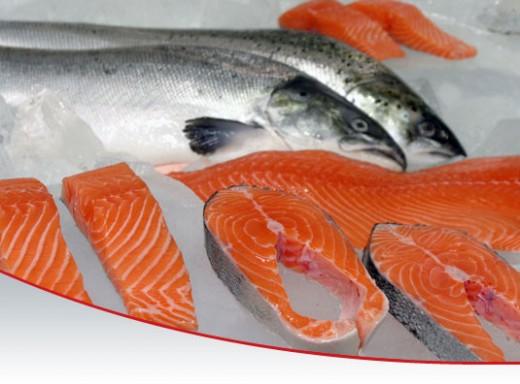 Salmon dan Sarden