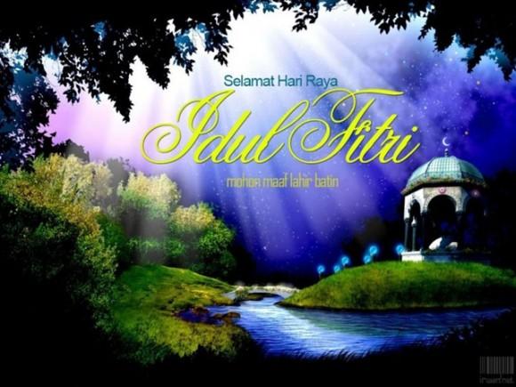 Ucapan Kata Selamat Lebaran Idul Fitri 2012