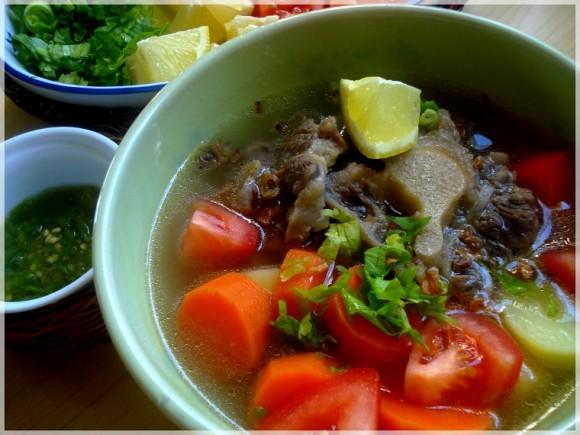 Cara membuat Sup Kentang Iga Kambing