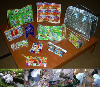 Cara Mengolah Sampah Plastik Menjadi Kerajinan