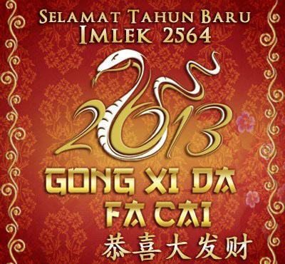 Tahun baru Imlek 2564