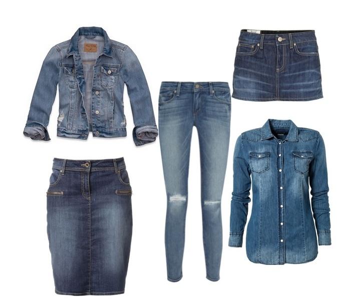 Tips Cantik Menggunakan Fashion denim