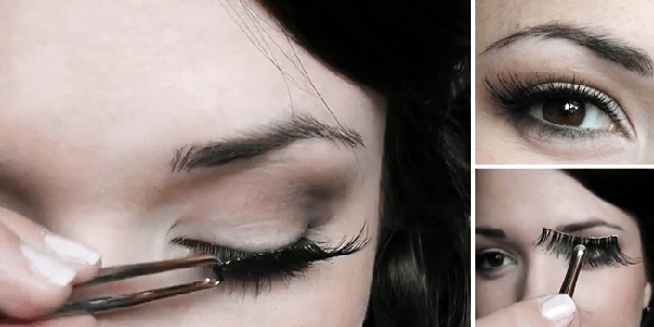 Cara Memakai Bulu Mata Palsu
