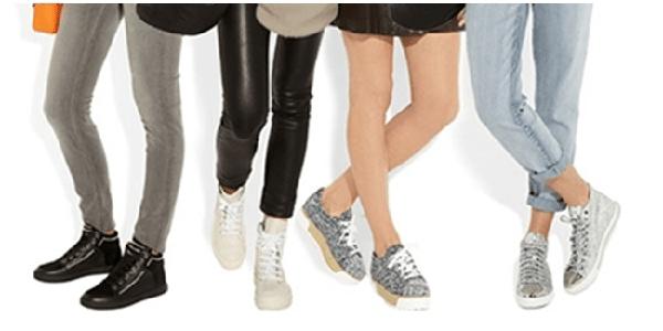 Tips Tampil Cantik dengan Sneaker