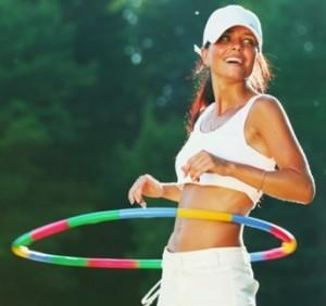 Bakar Lemak Anda dengan Bermain Hula Hoop