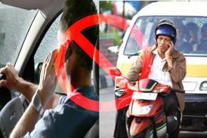 Trik Menggunakan Handphone di Saat Menyetir
