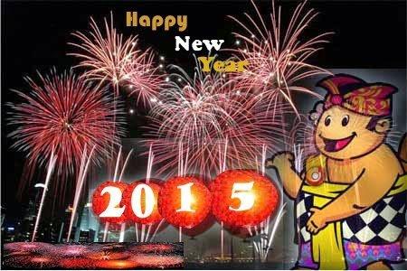 Kata Ucapan Untuk Memperingati  Tahun Baru 2015