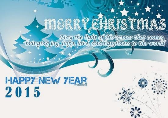 Ucapan Selamat Natal Dan Tahun Baru 2015
